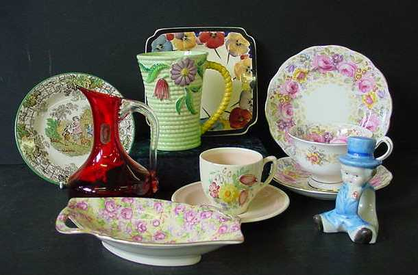 Royal Albert, Carlton Ware, Chintz, Royal Winton, Clarice Cliff, Wedgwood, Susie Cooper plus many others, Click here for more